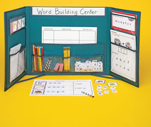 Word Building Activity Center